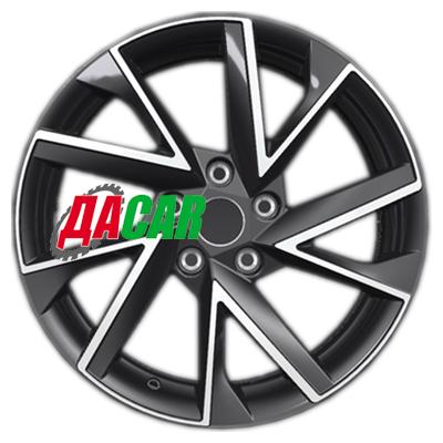 Khomen Wheels KHW1714 (Tucson) 7x17/5x114,3 ET51 D67,1 Black-FP