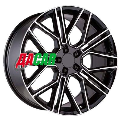 Khomen Wheels KHW2101 (Front) 9,5x21/5x112 ET37 D66,6 Black-FP
