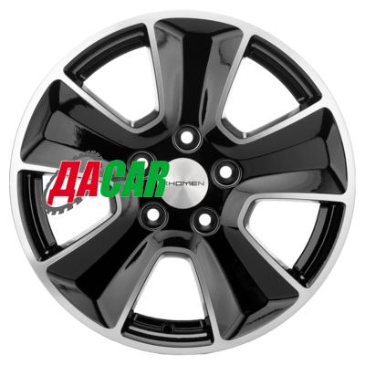 Khomen Wheels KHW1601 (Duster) 6,5x16/5x114,3 ET50 D66,1 Black-FP