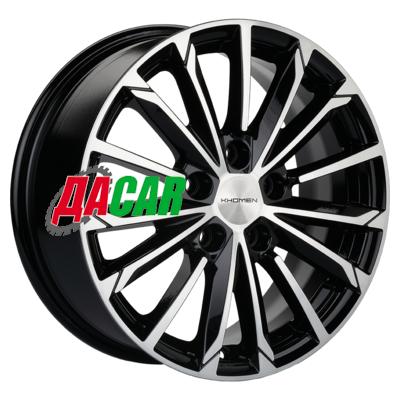 Khomen Wheels KHW1611 (Corolla) 6,5x16/5x114,3 ET45 D60,1 Black-FP
