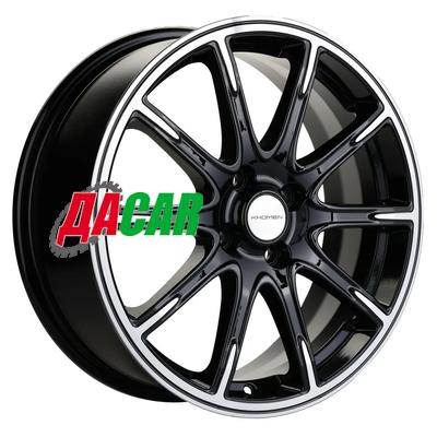 Khomen Wheels KHW1707 (Lada Vesta Cross) 6,5x17/4x100 ET43 D60,1 Black-FP