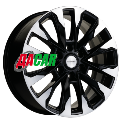 Khomen Wheels KHW2010 (LC 300) 8x20/6x139,7 ET60 D95,10 Black-FP