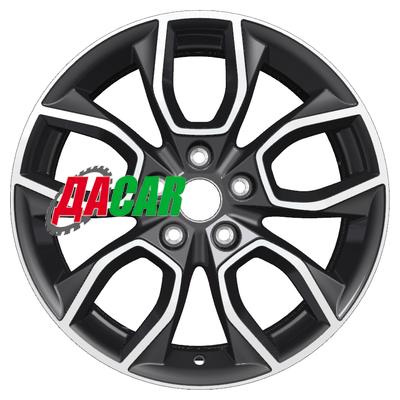 Khomen Wheels KHW1713 (SantaFe) 7x17/5x114,3 ET47 D67,1 Black-FP