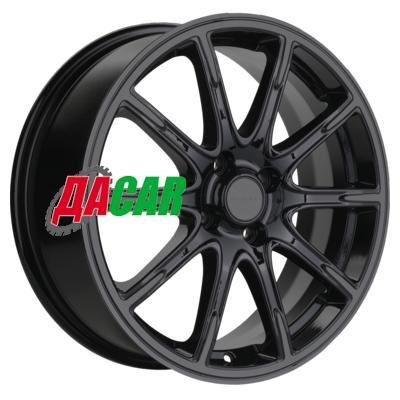 Khomen Wheels KHW1707 (Lada Vesta) 6,5x17/4x100 ET50 D60,1 Black-FP matt