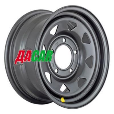Off-Road Wheels ВАЗ Нива 6,5x15/5x139,7 ET35 D98,5 черный (треуг.)