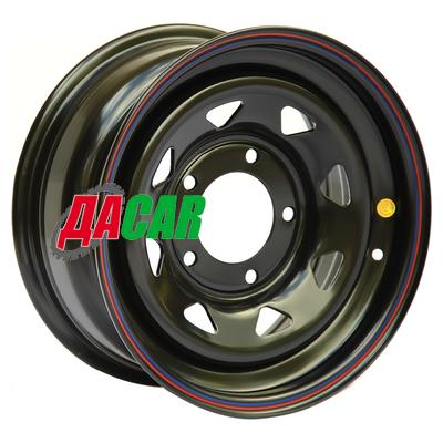 Off-Road Wheels УАЗ 7x16/5x139,7 ET25 D110 черный
