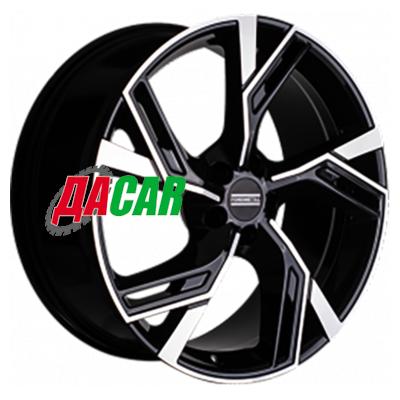 Fondmetal Atena 8,5x20/5x112 ET39 D66,5 Gloss Black Machined