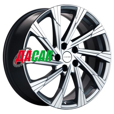 Khomen Wheels KHW1901 (Mazda CX-5/CX8) 7,5x19/5x114,3 ET45 D67,1 Gray-FP