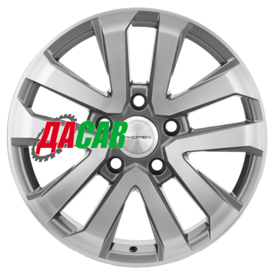 Khomen Wheels KHW1203 (LC200) 8,5x20/5x150 ET58 D110,1 Gray-FP