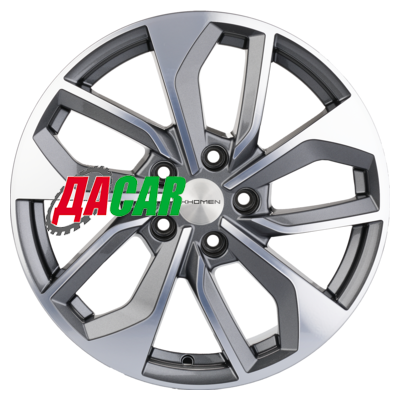 Khomen Wheels KHW1703 (RAV4) 7x17/5x114,3 ET39 D60,1 Gray-FP