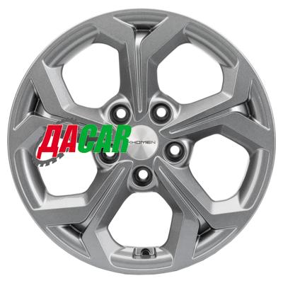 Khomen Wheels KHW1606 (Focus) 6,5x16/5x108 ET50 D63,3 Gray