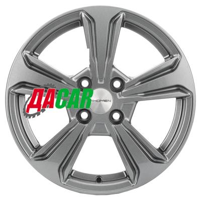 Khomen Wheels KHW1502 (Solaris II) 6x15/4x100 ET46 D54,1 Gray