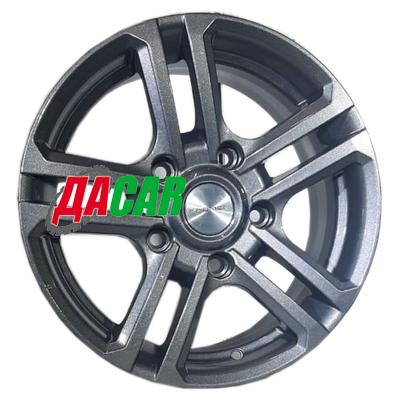 Khomen Wheels KHW1602 (Niva 4x4 Bronto) 6,5x16/5x139,7 ET35 D98,5 Gray