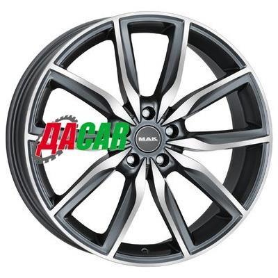 MAK Allianz 8x19/5x112 ET47 D66,6 Gunmetal Mirror Face