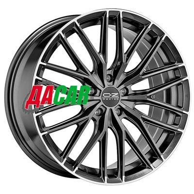OZ Gran Turismo HLT 8,5x20/5x112 ET35 D75 Star Graphite Diamond Lip