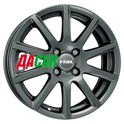 Rial Milano 7x17/4x100 ET44 D63,3 Titanium