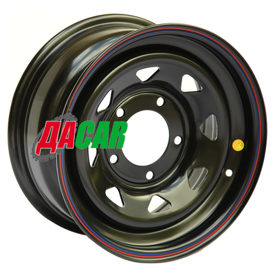 Off-Road Wheels УАЗ 8x15/5x139,7 ET-19 D110 черный (треуг.)